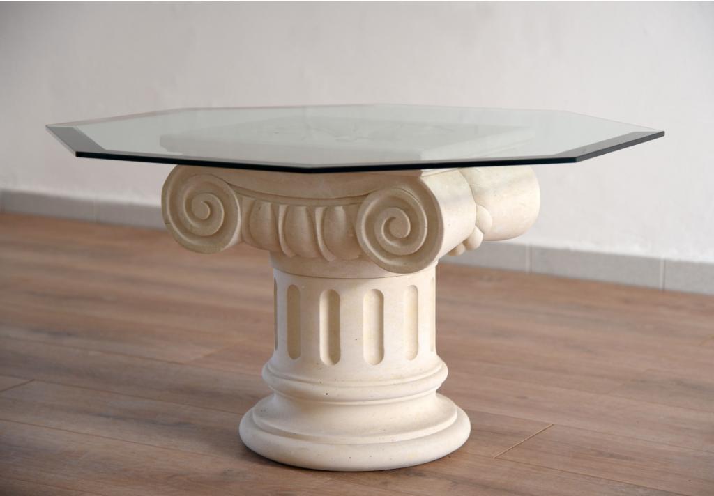 tavolino in pietra leccese - Texunshop.com